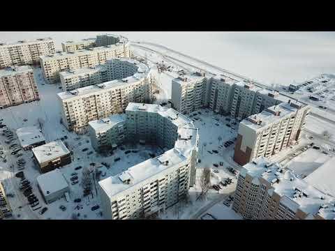 микрорайоны Балаково с высоты ...