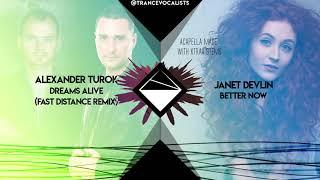 Janet Devlin x Alexander Turok x Fast Distance - Better Dreams Now (TRANCE Mashup)