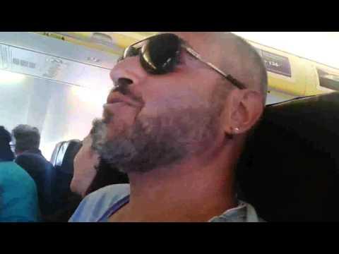 Decollo Ryanair Roma - Madrid