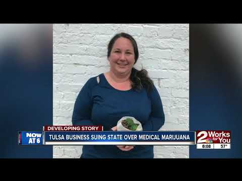 Tulsa business suing state over medical marijuana