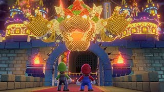 Super Mario 3D World - Final Castle (2 Players)