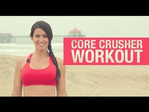 Rock Hard Abs Workout For Women (15 MINUTE TONED ABS!)