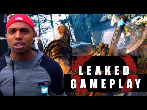 God of War 4 leaked gameplay - RANT!!!