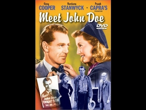 Frank Capra - Meet John Doe (1941) [commentary with subtitles]