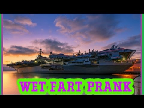 WET FARTS PRANK ON A AIRCRAFT CARRIER WITH THE SHARTER AND FIVERR FUNNY GUYS