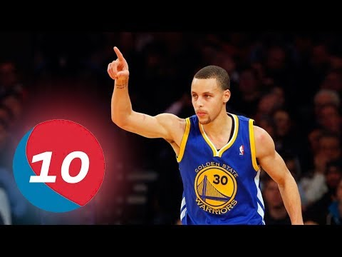 The TOP 10 PLAYS of Stephen Curry's NBA...
