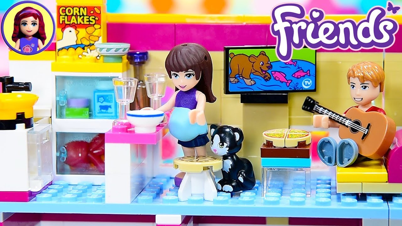 Lego Friends Custom Studio Apartment From Renovated Performance