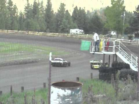Eagle Track Raceway Modified Main Event Part 1 May 31st 2014