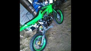 Dirt Bike 125cc big wheels 14/17