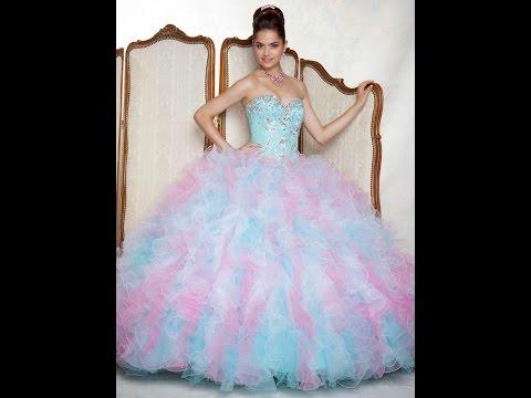 Los 27 Vestidos De Xv Años Mas Bonitos Del Mundo Youtube