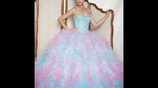 ♥Los 27 Vestidos De Xv Años Mas Bonitos Del Mundo!☺