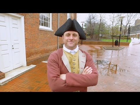 George Time Travels to Colonial Philadelphia to Sample the Ale