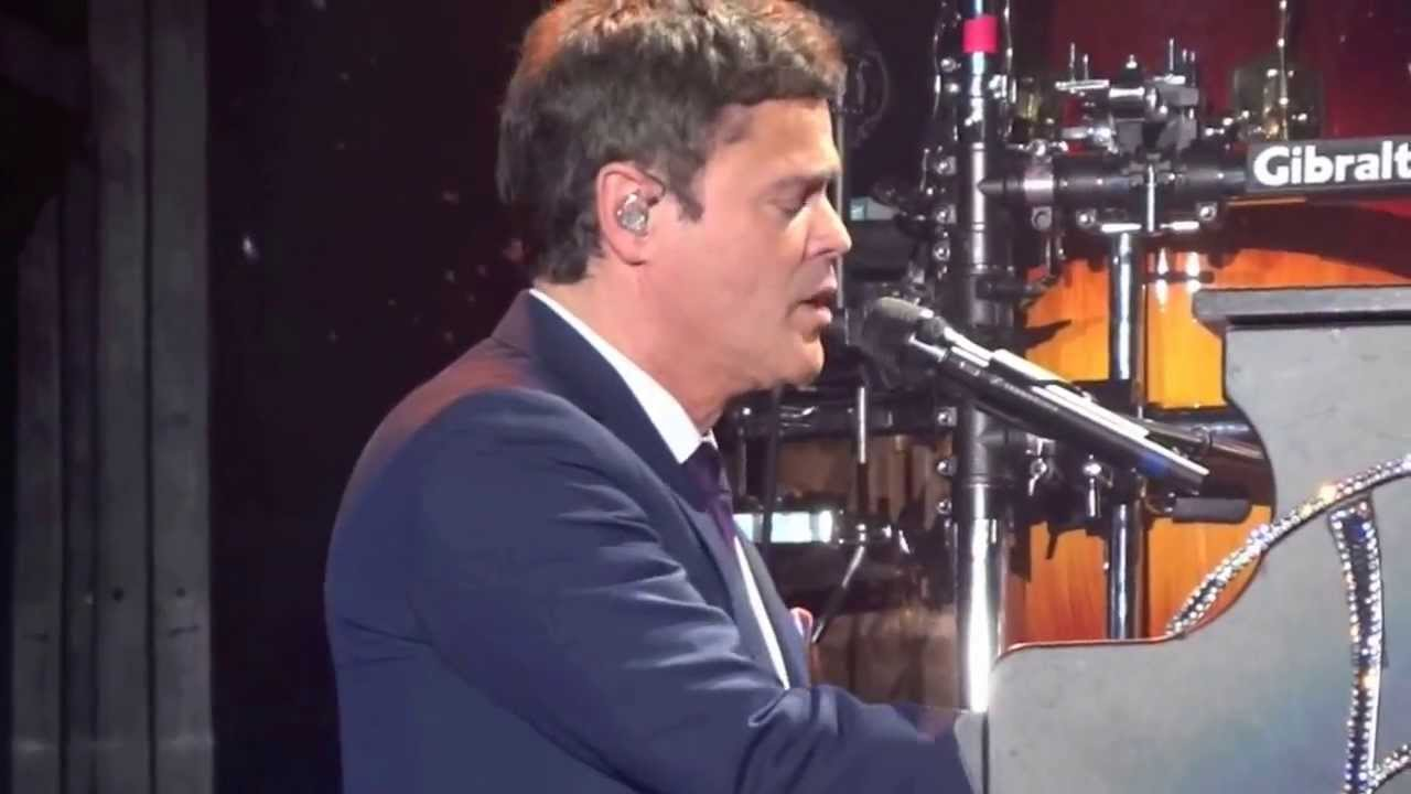Donny Osmond Singing Whenever You Re In Trouble Youtube