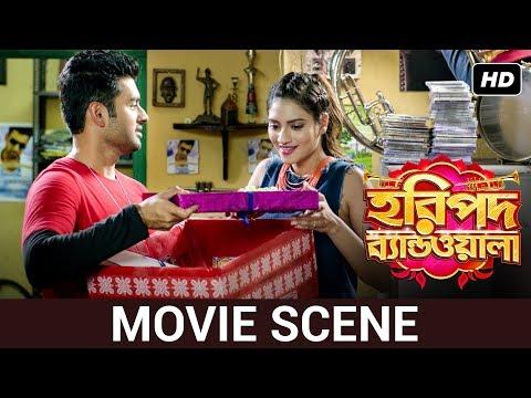 movie-scene- -ankush-hazra,-nusrat-jahan- -haripada-bandwala- -svf-music
