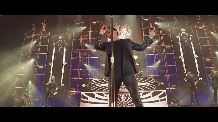 panic at the disco  death of a bachelor live from the death of a bachelor tour