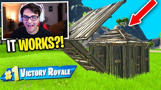 I used this SECRET Box Trick to WIN in Fortnite... (works everytime)