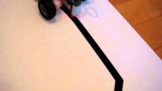 Lego Mindstorms Line-Following robot with PID Control