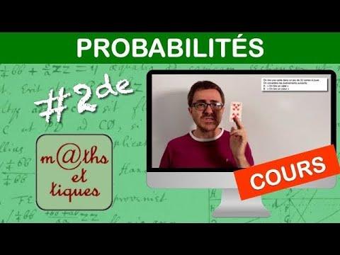 Download LE COURS : Probabilités - Seconde