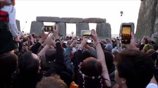 Sunrise at Stonehenge - Summer Solstice 2017