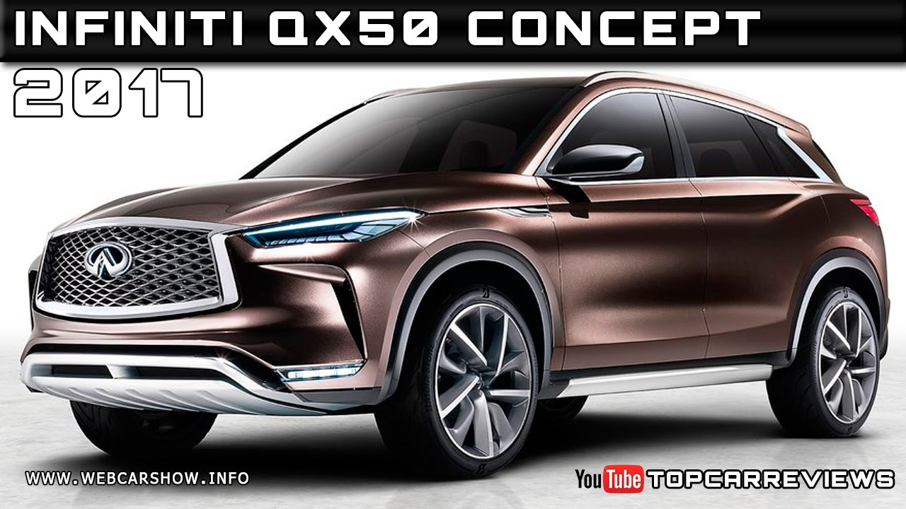 2017 infiniti qx50 concept review rendered price specs release date youtube. Black Bedroom Furniture Sets. Home Design Ideas