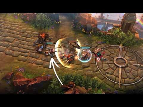 видео: vainglory — представляем героя: Лэнс