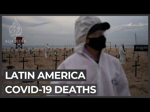 Latin America COVID-19 death toll rises past 200,000