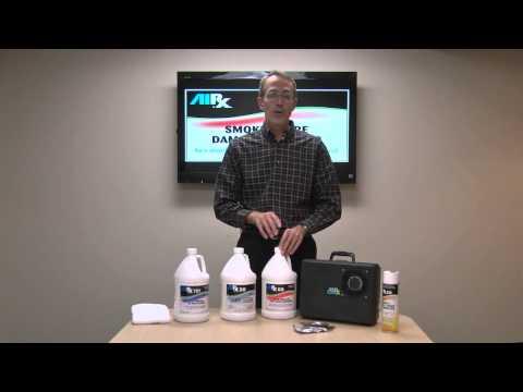 RX Smoke & Fire Damage Clean Up