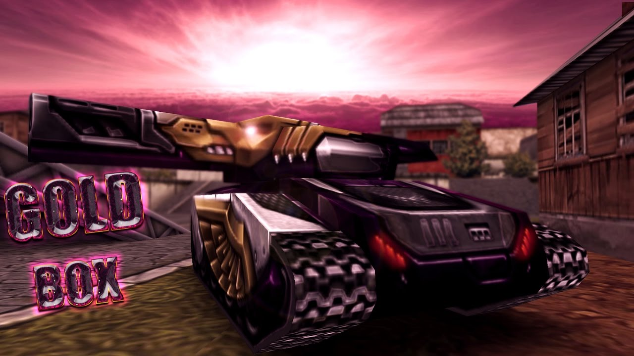 Tanki Online - Gold Box (May Day Holiday) By ARTUR720605 - Tanki Online - Gold Box (May Day Holiday)
