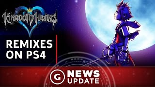 Kingdom Hearts HD 1.5 & 2.5 Remix Coming to PS4 - GS News Update