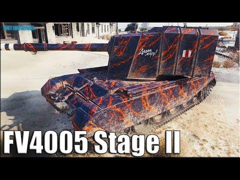 БАБАХА в Затерянном городе ✅ World of Tanks FV4005 Stage II лучший бой