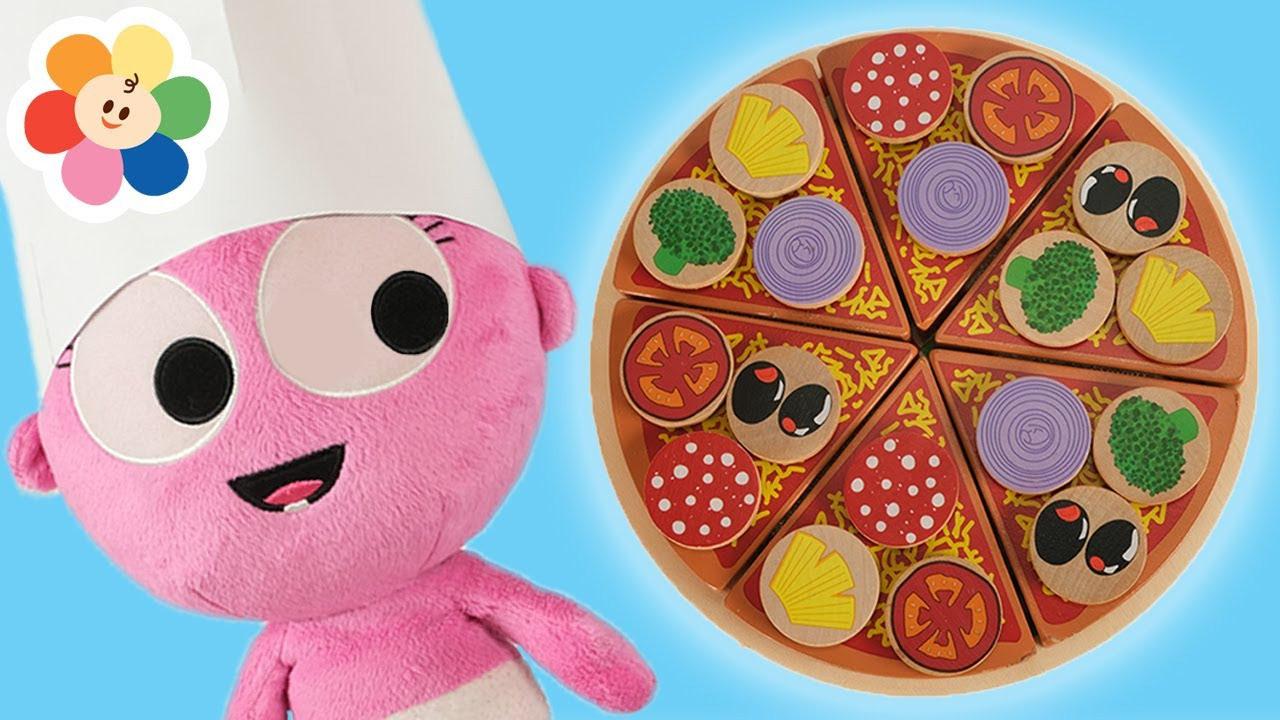 Pretend Play Cooking Pizza🍕| Kitchen Toys for Children with GooGoo Gaga | Learn Fruits & Vegetables