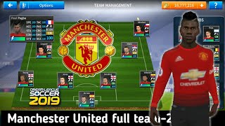 Manchester united create team new update all players 100- in dream league soccer 2019- download now