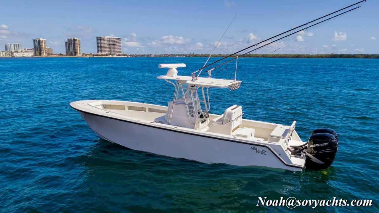 Sea Vee Boats For Sale 32 2017 Sovereign Yacht Sales