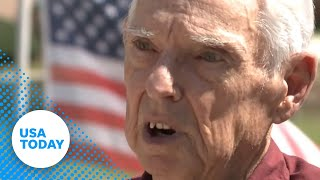 Veteran told he cant fly American flag in yard YouTube Videos