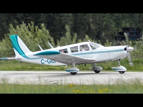 Piper PA-32-300 Cherokee Six Takeoff