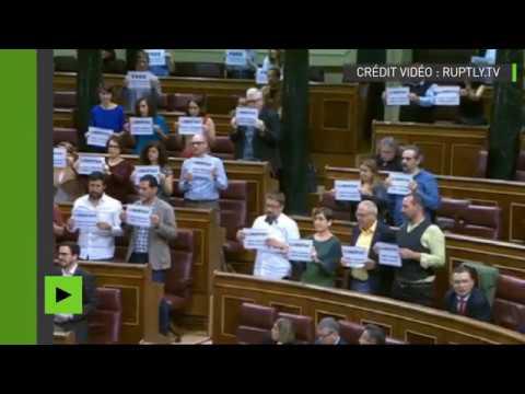 Au Parlement, des élus espagnols demandent la libération des indépendantistes catalans incarcérés