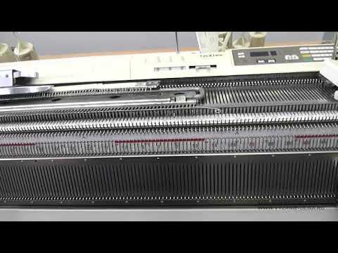 Видео уроки на вязальной машине бразер