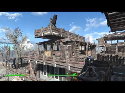 Fallout 4 Jamaica Plain Settlement Build No Mods