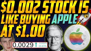 (Urgent) BUYING this $0.0029 Penny Stock is like INVESTING in APPLE at $1.00?😱