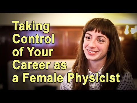 Female physicists take control of their careers