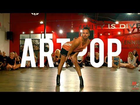 "YANIS MARSHALL HEELS CHOREOGRAPHY ""ART POP"" LADY GAGA. MILLENNIUM DANCE COMPLEX"