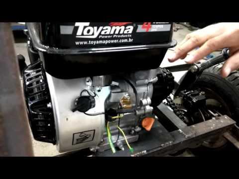 Buggy Kart Cross - FASE 33 -  Faça Você Mesmo - Ligando O Motor