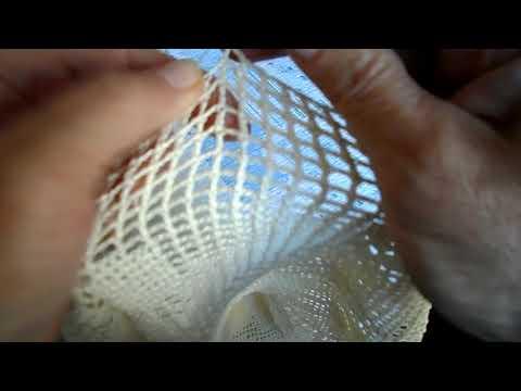 Филейное вязание крючком видеоурок