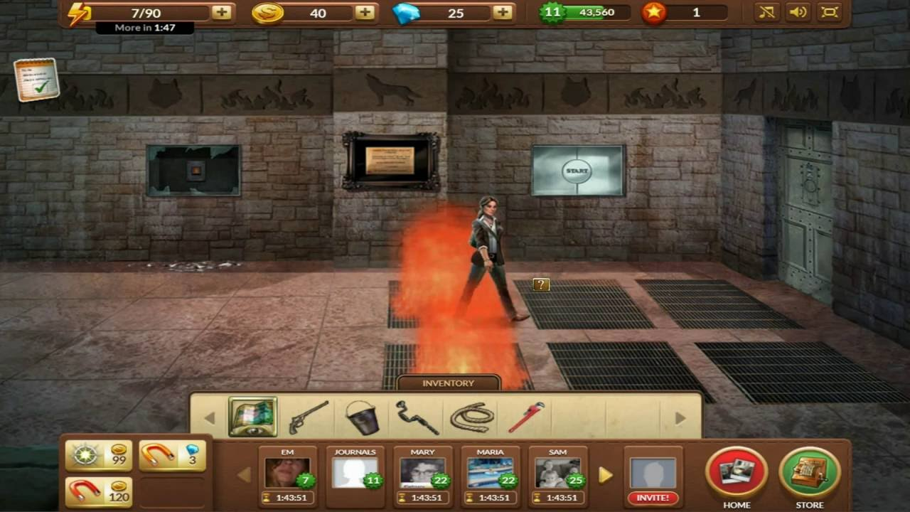 Download Journals Of The Unknown Wolf's Labyrinth Episode 10 (Flame Puzzle)