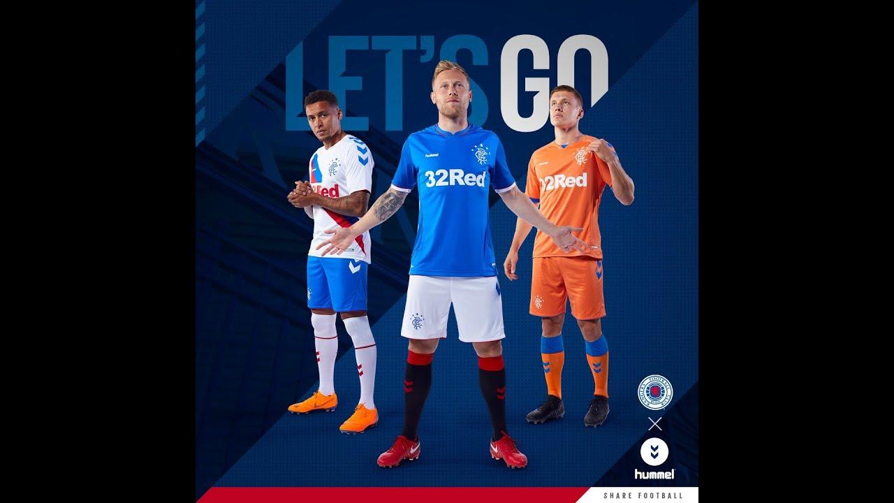 84781602709 Rangers Announce New Hummel Kit - Rangers Football Club, Official Website
