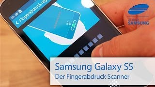 Samsung Galaxy S5 Fingerprint Fingerabdruck Scanner Test deutsch HD
