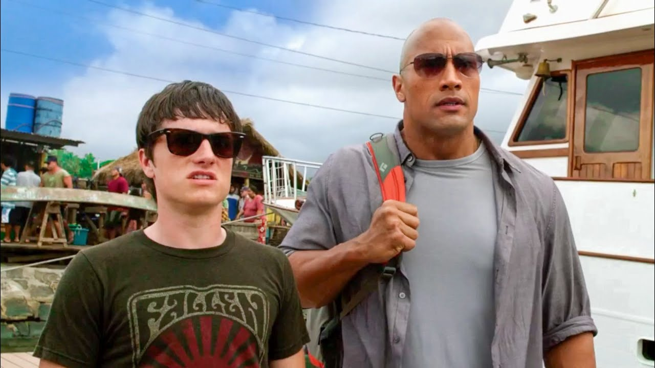 Download Sean meets Kailani - The Helicopter hiring scene   Journey 2: The Mysterious Island   2012