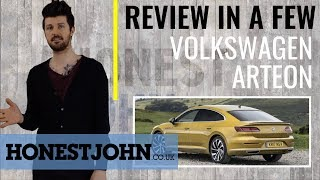 Car review in a few | Volkswagen Arteon 2018