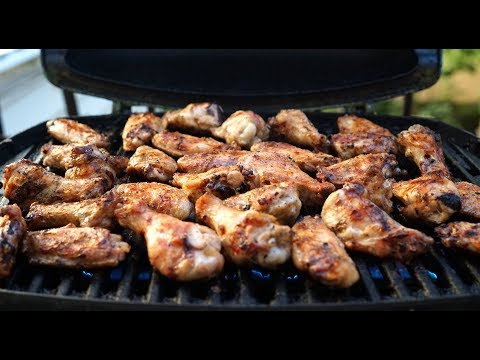 How to Grill Buffalo Wings on a Weber Q