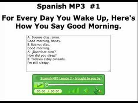 Spanish MP3 blog video 2